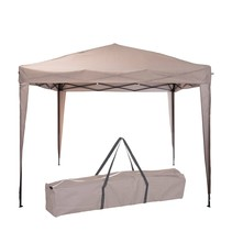 Pro Garden Easy-up Partytent  - Taupe 3 x 3 meter