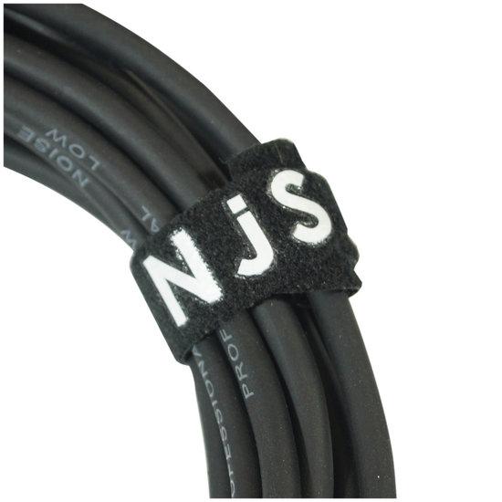 New Jersey Sound NJS 3,5 mm Stereo Audio Kabel naar 2 x Tulp (RCA) Kabel ( 5 Meter)