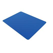 Aidapt grote rubberen mat van antislip silicone – blauw – afmetingen 600 x 450 x 2 mm