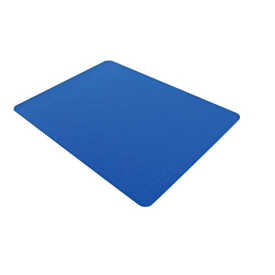 Aidapt Aidapt grote rubberen mat van antislip silicone – blauw – afmetingen 600 x 450 x 2 mm