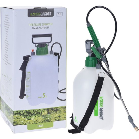 Excellent Electrics Drukspuit - plantensproeier met draagriem 5 liter