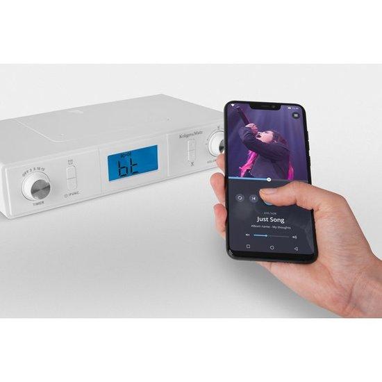 Krüger&Matz Krüger&Matz KM0817 onderbouwradio met FM en Bluetooth