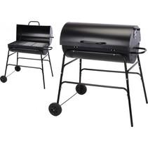 ProGarden XL Houtskoolbarbecue cilindervorm - Zwart