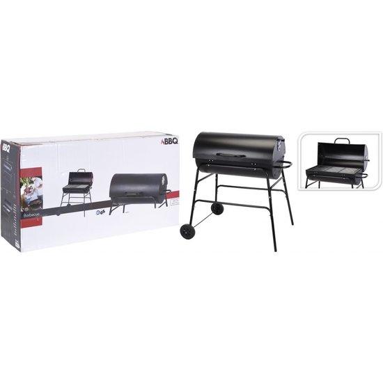 Progarden ProGarden XL Houtskoolbarbecue cilindervorm - Zwart