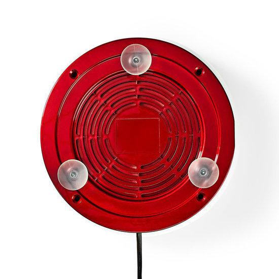 Nedis B.V. Nedis Suikerspinmachine vintage rood/wit 500 Watt