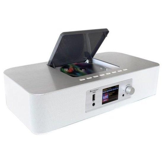 Soundmaster Soundmaster ICD2020WE Internetradio DAB+, FM , CD en netwerkspeler, wit