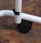 Aidapt Verrijdbare bijzettafel / bedtafel op wielen met kantelbaar blad