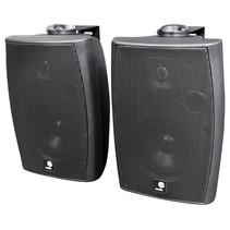 E-Audio Actieve luidsprekers met ophangbeugel Bluetooth en AUX input 60 Watt Zwart