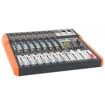 Ibiza Sound MX802 8-kanaals mengpaneel met USB en Bluetooth
