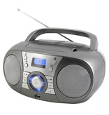Soundmaster Soundmaster SCD1800TI DAB+ Boombox met CD/MP3 speler, Bluetooth & USB