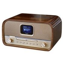 B-stock Soundmaster DAB970BR stereo retro DAB+ en FM radio met CD, Bluetooth en USB
