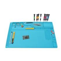 Velleman siliconen soldeermat 550 x 350 mm