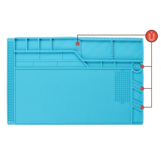 Velleman Velleman siliconen soldeermat 550 x 350 mm