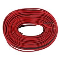 Shall 10 meter luidsprekerkabel rood/zwart 2 x 0.75 mm
