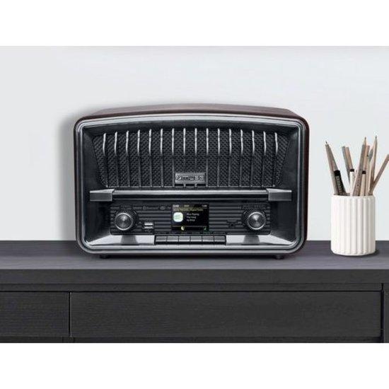 Muse Muse M-135 DBT DAB+/FM radio met bluetooth in vintage stijl
