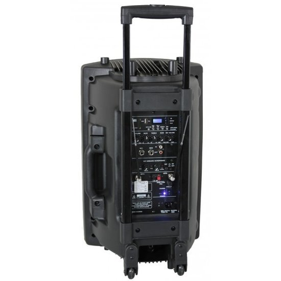 Ibiza Sound Ibiza Sound PORT15VHF-BT 800 Watt Draagbaar PA systeem met USB-MP3, REC, VOX,Bluetooth - Zwart