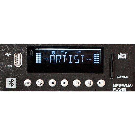 Ibiza Sound Ibiza Sound PORT15UHF Draagbaar geluidssysteem 800 Watt - USB/Bluetooth/micro's - ingebouwde accu