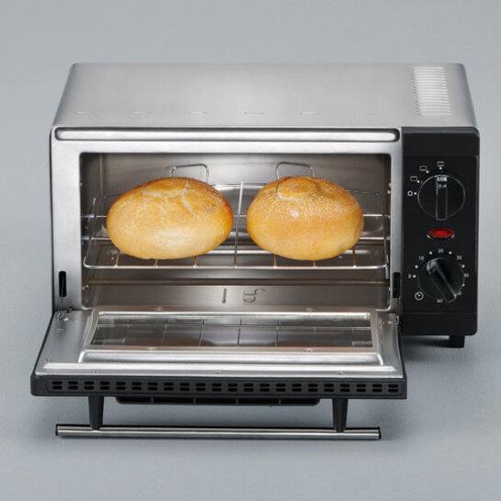 Severin Severin TO 2052 mini Oven 800 Watt zwart/zilver - 9 liter
