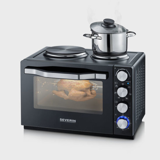 Severin Severin TO 2065  oven met kookplaat draaispit en hetelucht