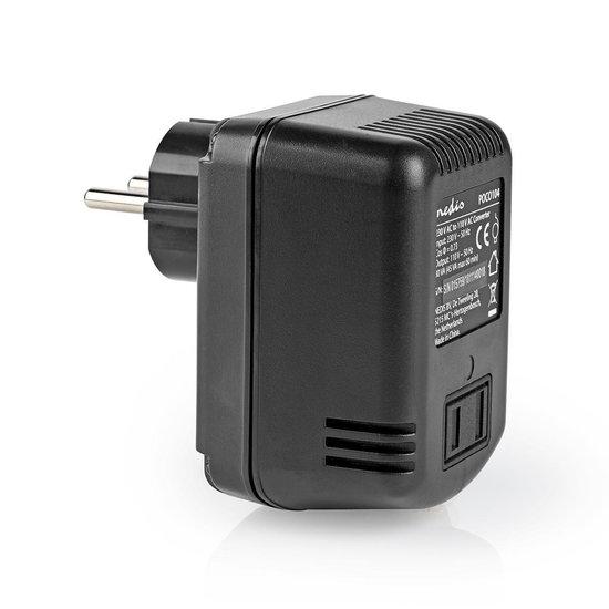 Nedis B.V. Nedis 230 Volt naar 110 Volt stroomomvormer / 45 Watt