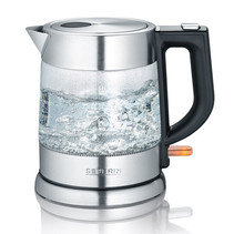 Severin WK 3468 glazen waterkoker 1 liter - 2200 watt