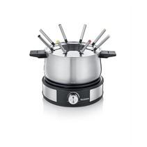 Severin FO 2471 2-in-1 elektrische fonduepan en crêpemaker