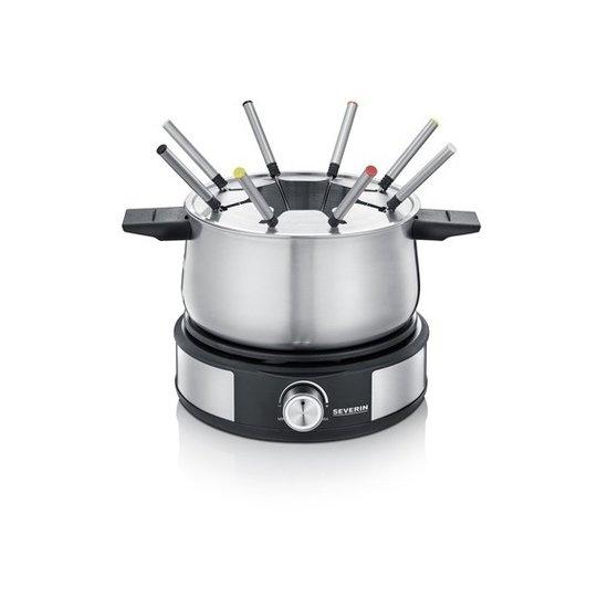 Severin Severin FO 2471 2-in-1 elektrische fonduepan en crêpemaker