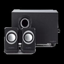 Nedis Computer Speaker 2.1 33 Watt 3.5 mm Jack
