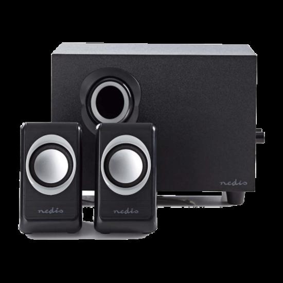 Nedis Nedis Computer Speaker 2.1 33 Watt 3.5 mm Jack