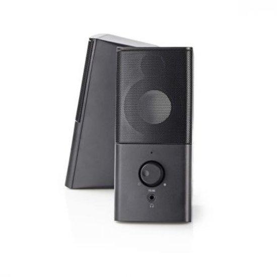 Nedis Nedis Gaming-luidsprekers 2.0 USB 3.5mm jack RMS 6 Watt