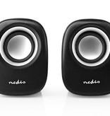 Nedis B.V. Nedis Luidsprekers 2.0 12 Watt 3.5mm Jack