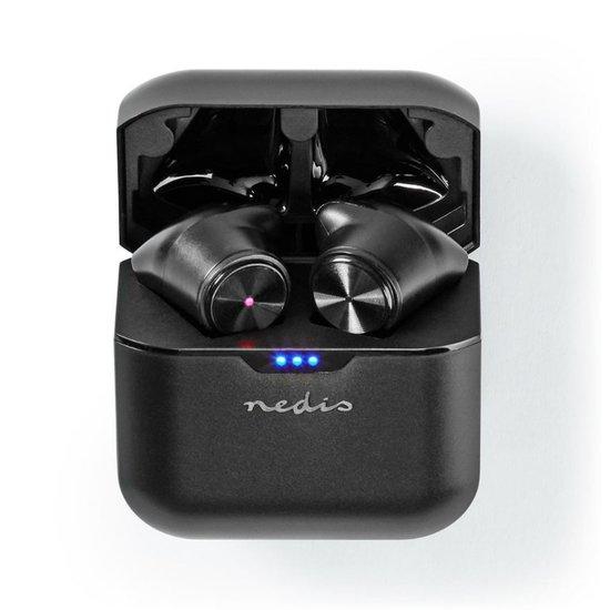 Nedis Nedis HPBT5054BK | Bluetooth 5.0 oordopjes met Charging Case Zwart | 3 uur afspeeltijd