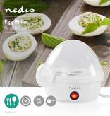 Nedis Nedis Witte elektrische eierkoker voor 7 gekookte eieren