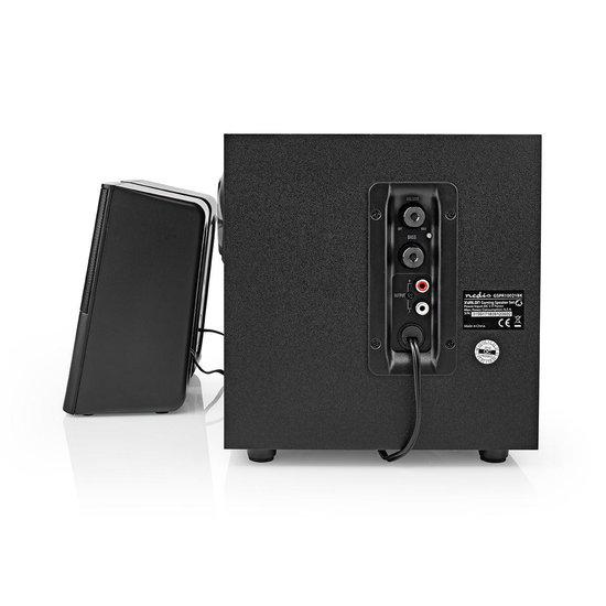 Nedis Nedis Gaming-luidsprekers - 2.1 - USB gevoed - 3,5 mm jack - 11 Watt RMS