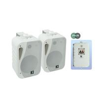 E-audio 5.25 inch 3-Weg achtergrondluidsprekers 160 Watt 4 Ohm wit