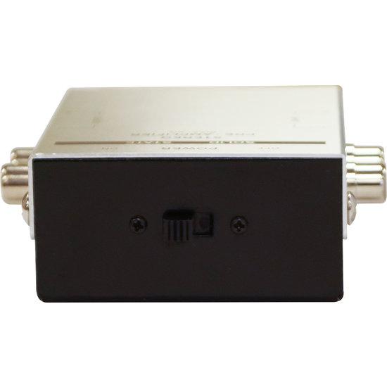 E-audio E-audio Phono Voorversterker met RIAA op 9 Volt batterij