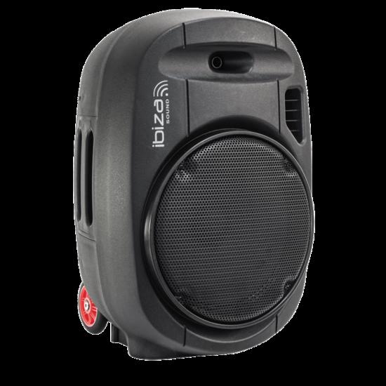 Ibiza Sound Ibiza PORT15UHF-MKII draagbaar geluidssysteem 800 Watt met accu en microfoons