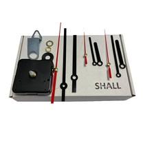 Shall UR091 quartz uurwerk  stil  LET OP: Maximale dikte bevestigingsplaat 3 mm (as lengte)