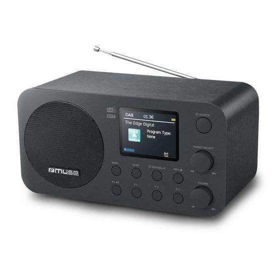 Muse Muse M-128DBT DAB+ radio en FM