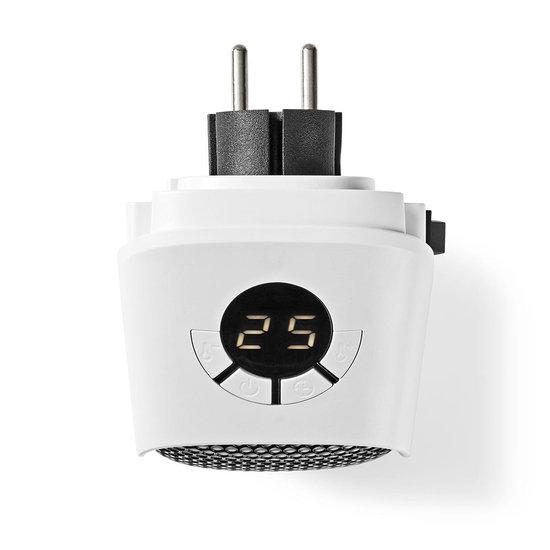 Nedis B.V. Nedis Elektrische verwarming - Mini plug in heater 400 Watt