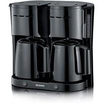 Severin KA 5829 duo koffiezetapparaat met thermoskannen - zwart
