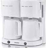 Severin Severin KA 5830 duo koffiezetapparaat met thermoskannen - wit