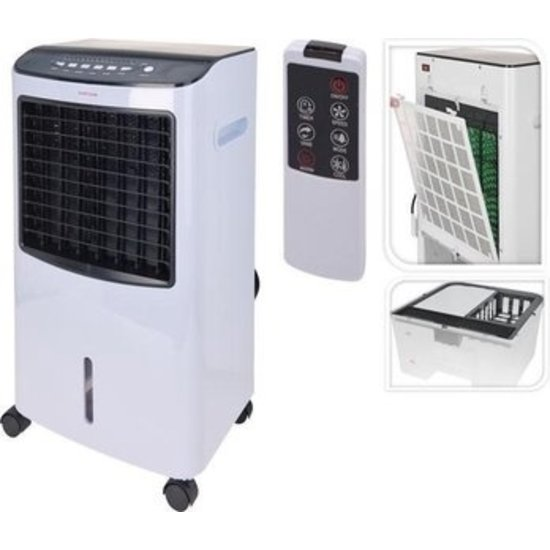 Excellent Electrics Mobiele aircooler & Heater met afstandsbediening | Excellent electrics - EE8000010