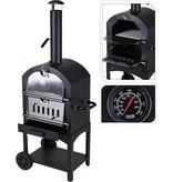 Vaggan BBQ pizzaoven in 1 | Zwart/zilver - X85300070