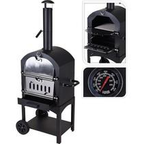 BBQ pizzaoven in 1 | Zwart/zilver - X85300070
