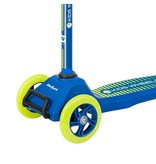 Rebel Rebel Kids Wheels driewielige kinderstep, blauw/geel