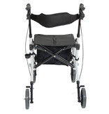Aidapt Aidapt VP184 2 in 1 rollator rolstoel wit