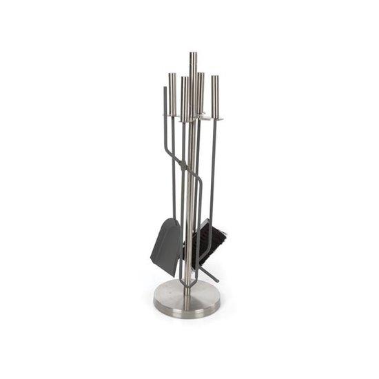 Perel Perel BB50122 haardset - roestvrij staal - 4-delig