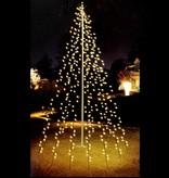 Vlaggenmast verlichting | 5 meter, 120 LED's