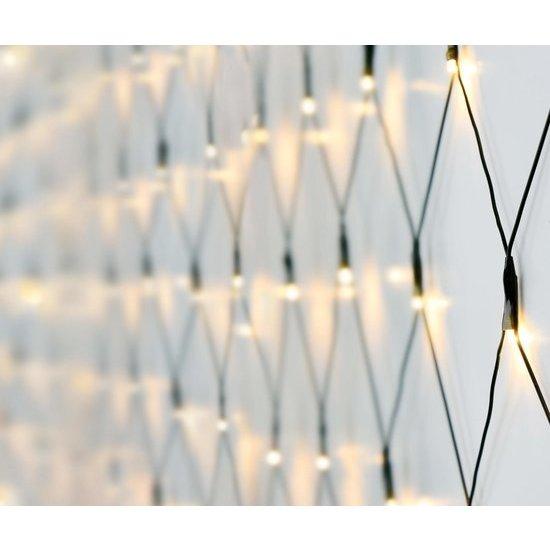 Nedis B.V. Netverlichting buiten   160 LED's, Warmwit
